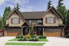 Home Plan - Craftsman Exterior - Front Elevation Plan #48-549
