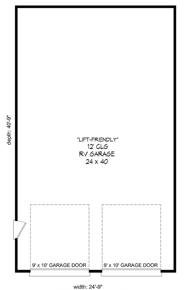 Dream House Plan - Country Floor Plan - Main Floor Plan #932-247