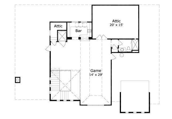 European Floor Plan - Other Floor Plan Plan #411-656