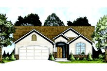 Dream House Plan - Traditional Exterior - Front Elevation Plan #58-203