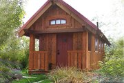 Cottage Style House Plan - 1 Beds 1 Baths 290 Sq/Ft Plan #896-5 Exterior - Other Elevation