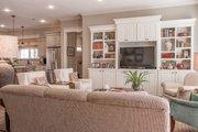 European Style House Plan - 3 Beds 2 Baths 2024 Sq/Ft Plan #430-168