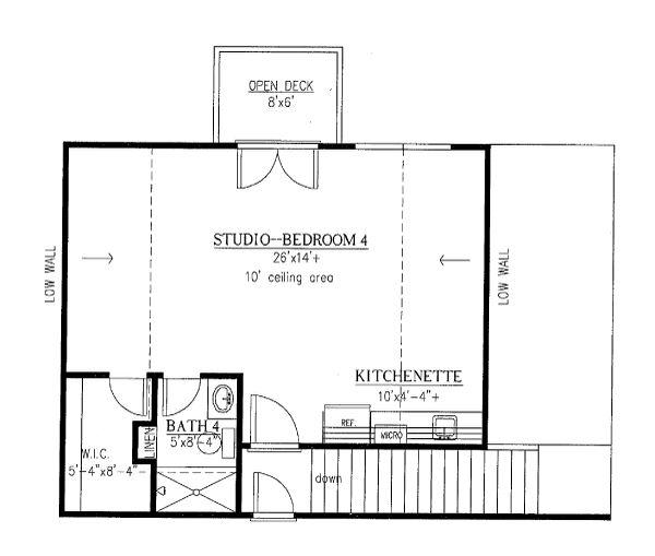 House Plan Design - Optional Garage Apartment