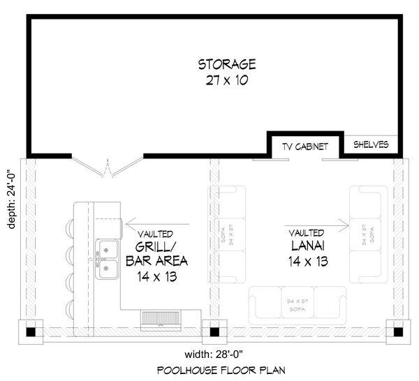 Dream House Plan - Country Floor Plan - Main Floor Plan #932-110