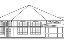 Home Plan - Ranch Exterior - Rear Elevation Plan #124-425