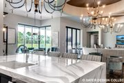 Contemporary Style House Plan - 4 Beds 5 Baths 3718 Sq/Ft Plan #930-477
