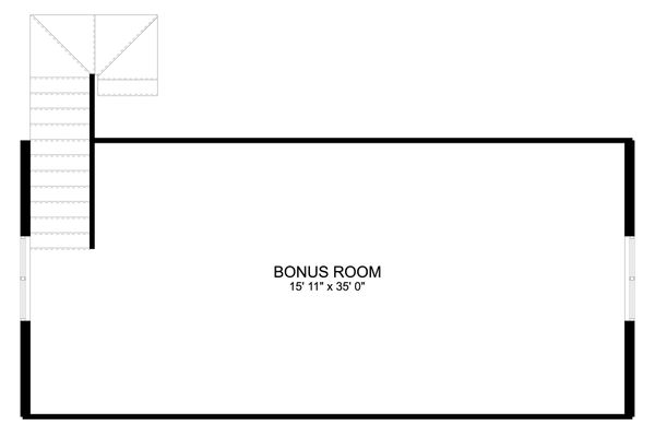 Dream House Plan - Traditional Floor Plan - Upper Floor Plan #1060-86