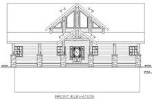 Craftsman Exterior - Front Elevation Plan #117-886
