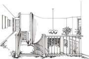 Southern Style House Plan - 4 Beds 5 Baths 4890 Sq/Ft Plan #312-112 Photo