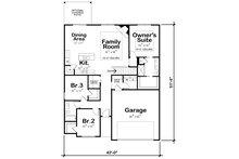 Traditional Floor Plan - Main Floor Plan Plan #20-2350