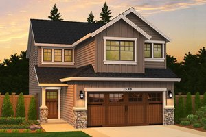 Narrow Lot House Plans at ePlans.com | Narrow House Plans on