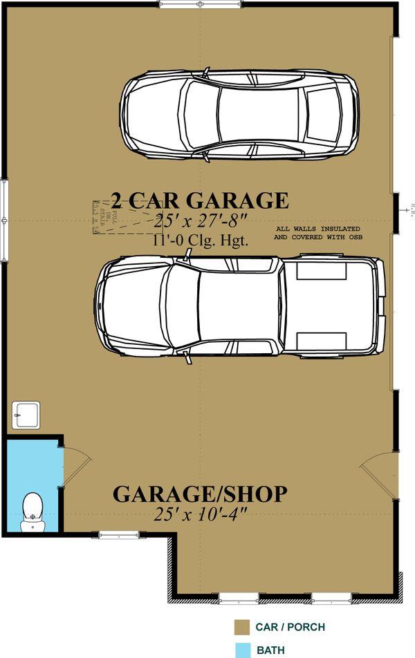 Traditional Floor Plan - Main Floor Plan Plan #63-334