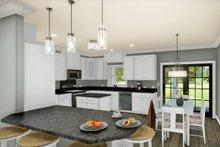 Traditional Interior - Kitchen Plan #44-236