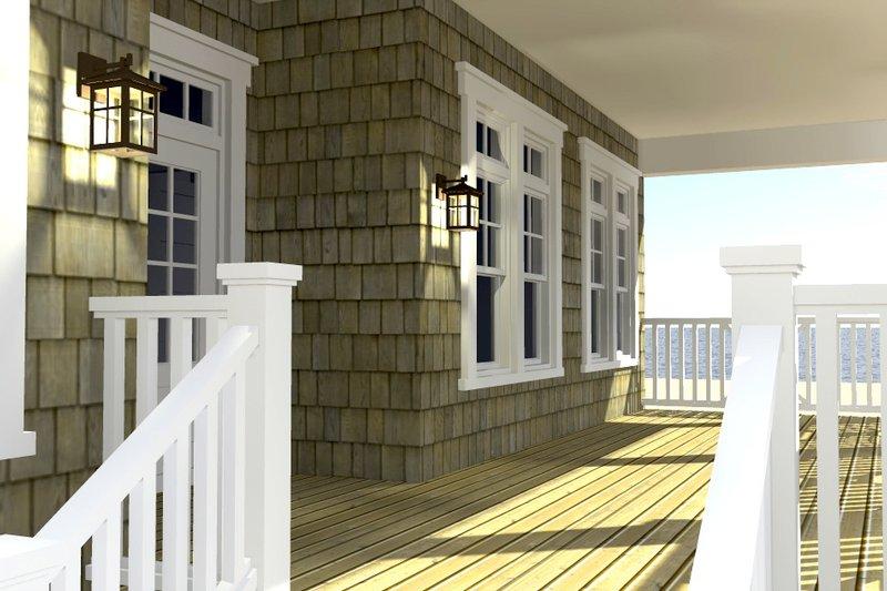 Beach Exterior - Other Elevation Plan #64-226 - Houseplans.com