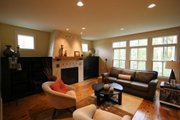 Craftsman Style House Plan - 3 Beds 2.5 Baths 2456 Sq/Ft Plan #901-76 Interior - Family Room
