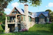 Craftsman Style House Plan - 2 Beds 3 Baths 1921 Sq/Ft Plan #923-23