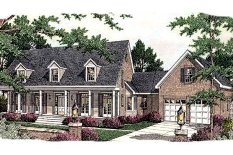 Southern Style House Plan - 3 Beds 3 Baths 2144 Sq/Ft Plan #406-299