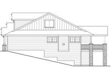 Dream House Plan - Craftsman Exterior - Other Elevation Plan #124-1020