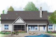 European Style House Plan - 4 Beds 3 Baths 2295 Sq/Ft Plan #929-1021 Exterior - Rear Elevation