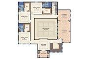 Mediterranean Style House Plan - 4 Beds 4.5 Baths 6838 Sq/Ft Plan #548-22 Floor Plan - Upper Floor Plan