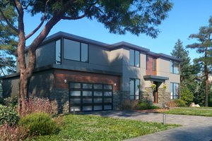 Contemporary Exterior - Other Elevation Plan #1066-128