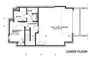 Craftsman Style House Plan - 4 Beds 3.5 Baths 2760 Sq/Ft Plan #434-5