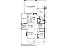 Farmhouse Floor Plan - Main Floor Plan Plan #70-1419