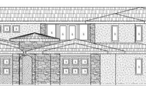 Mediterranean Exterior - Front Elevation Plan #24-289