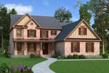 Home Plan - Traditional Exterior - Front Elevation Plan #419-154