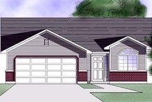 House Plan Design - Country Exterior - Front Elevation Plan #5-105
