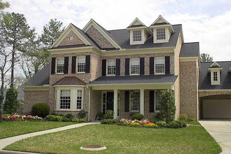Colonial Exterior - Other Elevation Plan #61-119 - Houseplans.com