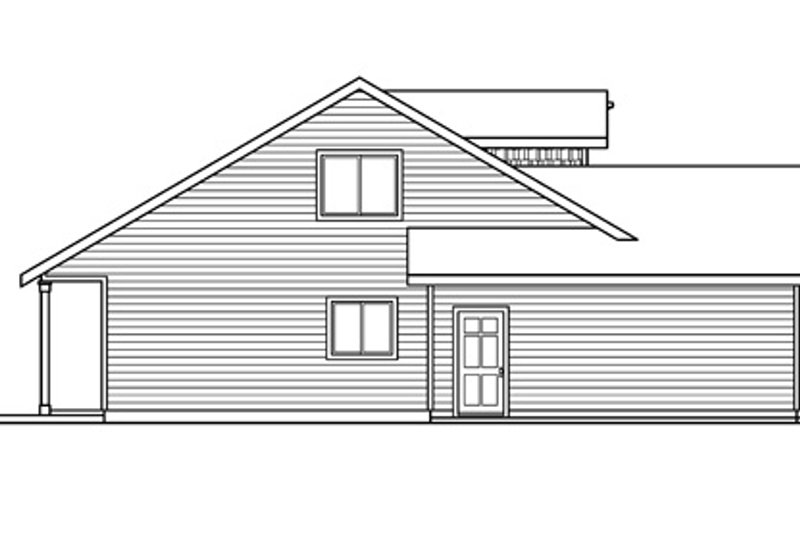 Exterior - Other Elevation Plan #124-692 - Houseplans.com