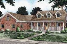 House Plan Design - Traditional Exterior - Front Elevation Plan #126-127