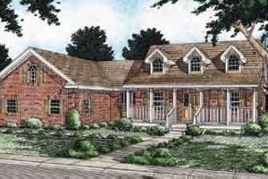 House Design - Traditional Exterior - Front Elevation Plan #126-127