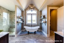 House Design - Traditional Interior - Master Bathroom Plan #929-1042