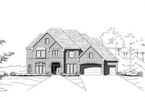 Traditional Exterior - Front Elevation Plan #411-135