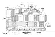 Craftsman Style House Plan - 4 Beds 3 Baths 2860 Sq/Ft Plan #1071-23 Exterior - Other Elevation