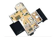 European Style House Plan - 4 Beds 2 Baths 4054 Sq/Ft Plan #25-4476 Floor Plan - Upper Floor Plan