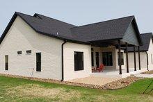 Home Plan - Farmhouse Exterior - Rear Elevation Plan #430-165