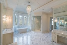 House Plan Design - Classical Interior - Master Bathroom Plan #119-363
