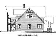 Cabin Style House Plan - 3 Beds 2.5 Baths 2077 Sq/Ft Plan #117-766 Exterior - Other Elevation