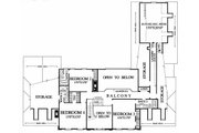 Colonial Style House Plan - 4 Beds 4 Baths 4204 Sq/Ft Plan #137-112 Floor Plan - Upper Floor