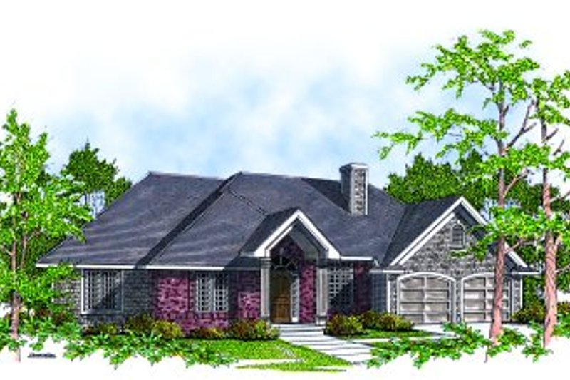 Traditional Exterior - Front Elevation Plan #70-224