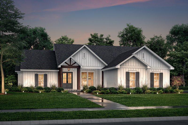 Architectural House Design - Farmhouse Exterior - Front Elevation Plan #430-225