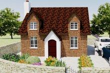 Home Plan - European Exterior - Front Elevation Plan #542-5