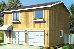 Traditional Exterior - Front Elevation Plan #312-751