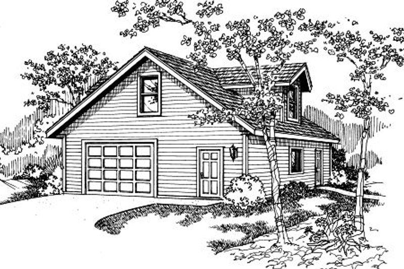 Traditional Exterior - Front Elevation Plan #124-661 - Houseplans.com