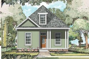 Traditional Exterior - Front Elevation Plan #424-224