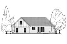 Craftsman Exterior - Rear Elevation Plan #430-141