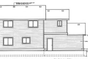 Traditional Style House Plan - 4 Beds 2.5 Baths 1632 Sq/Ft Plan #92-211 Exterior - Rear Elevation